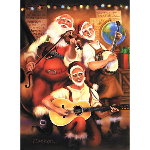 Art Strings North Pole Hootenanny Greeting Cards 10-Pack