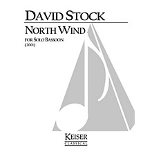 Lauren Keiser Music Publishing North Wind (Bassoon Solo) LKM Music Series by David Stock