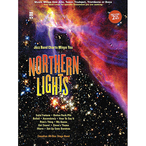Music Minus One Northern Lights - Tenor Saxophone Music Minus One Book with CD by Canadian All Star Stage Band