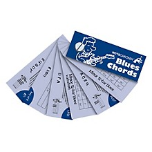 Music Sales Notecracker - Blues Guitar Chords (pocket-sized gift)