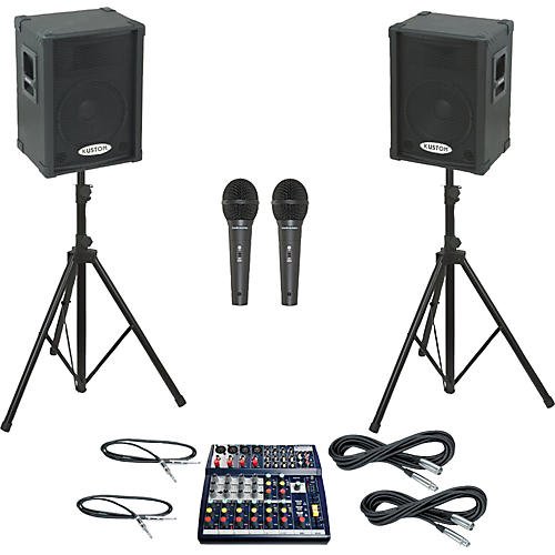 Soundcraft Notepad 124 / KPC12P PA Package