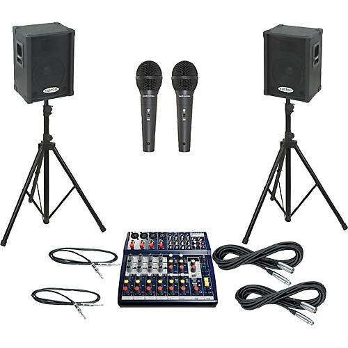 Soundcraft Notepad 124FX / KPC12P PA Package