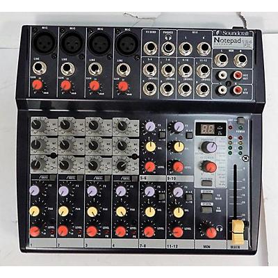 Soundcraft Notepad 124FX Unpowered Mixer