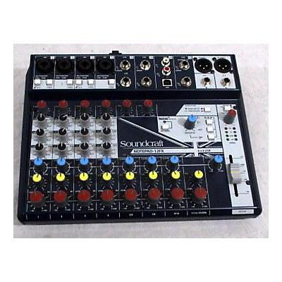 Soundcraft Notepad-12FX Powered Mixer