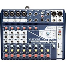 Open Box Soundcraft Notepad-12FX Small Format 12 Channel Analog Mixing Console w/ USB I/O & Effects