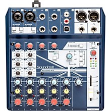 Open Box Soundcraft Notepad-8FX Small Format 8 Channel Analog Mixer w/ USB I/O & Effects