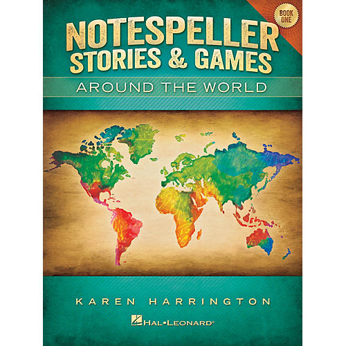 Hal Leonard Notespeller Stories & Games - Book 1 Piano Library Series Book by Karen Harrington (Level Elem)