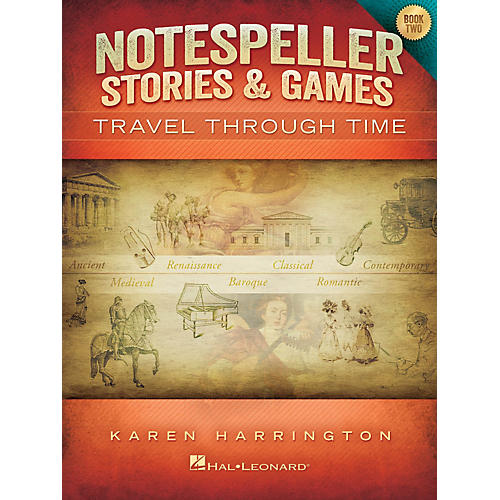 Hal Leonard Notespeller Stories & Games - Book 2 Piano Library Series Book by Karen Harrington (Level Inter)