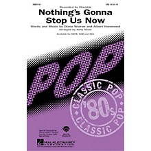 Hal Leonard Nothing's Gonna Stop Us Now SSA by Starship arranged by Kirby Shaw