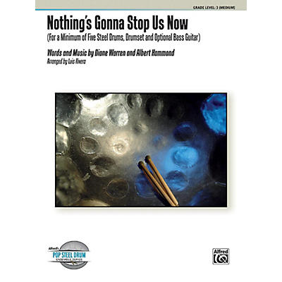 Alfred Nothing's Gonna Stop Us Now Steel Drum Ensemble Score & Parts