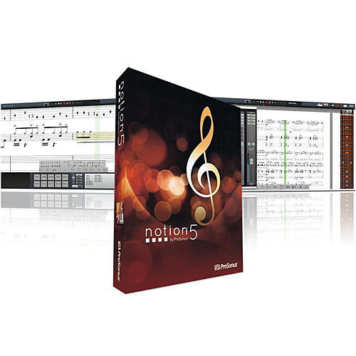 Presonus Notion 5 Music Notation Software