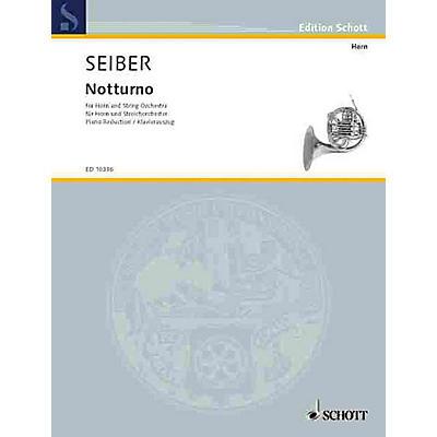 Schott Notturno (Horn and String Orchestra.) Schott Series