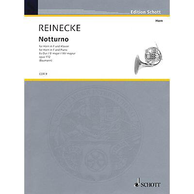 Schott Notturno Op. 112 (Horn and Piano) Schott Series Softcover