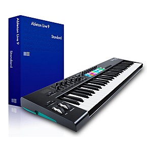 novation novation launchkey 61 midi controller with ableton live 9 5 standard musician 39 s friend. Black Bedroom Furniture Sets. Home Design Ideas