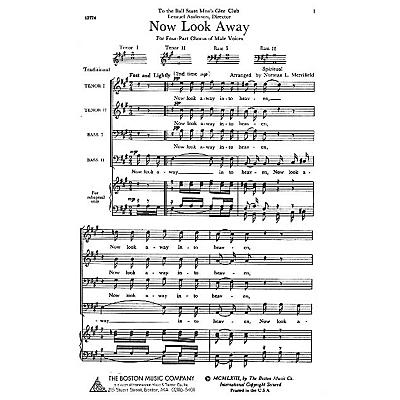 Boston Music Now Look Away TTBB Arranged by Norman L. Merrifield
