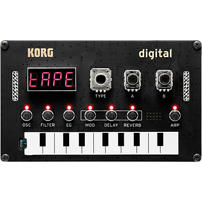 Korg Nu:Tekt NTS-1 Digital DIY Synthesizer