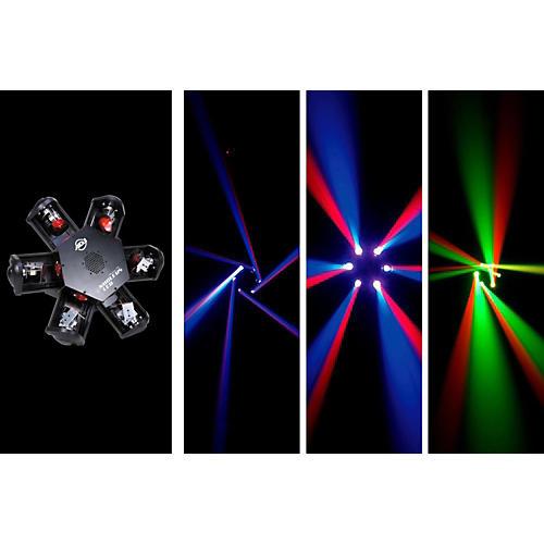 American DJ Nucleus LED - 6-Head Scanning Centerpiece Effect