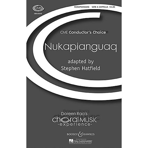 Boosey and Hawkes Nukapianguaq (CME Conductor's Choice) SATB a cappella arranged by Stephen Hatfield