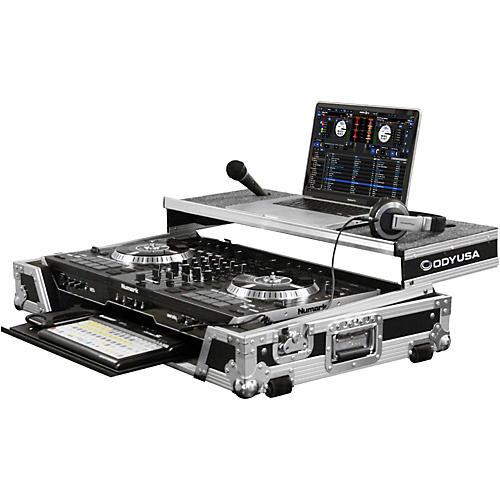 Odyssey Numark NS7II DJ Controller Glide Style Case With Lower Glide Tray