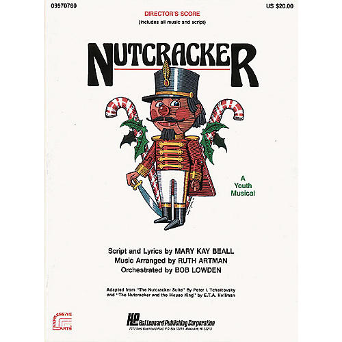 Hal Leonard Nutcracker (A Holiday Musical) TEACHER ED Arranged by Ruth Artman