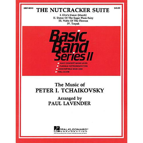 Hal Leonard Nutcracker Suite Concert Band Level 2 Arranged by Paul Lavender