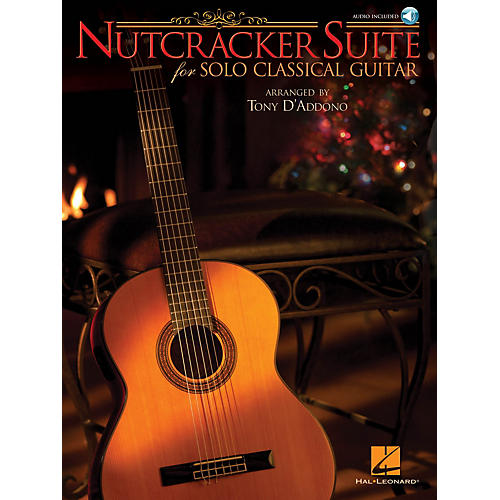 Hal Leonard Nutcracker Suite for Solo Classical Guitar Guitar Solo Series Softcover with CD
