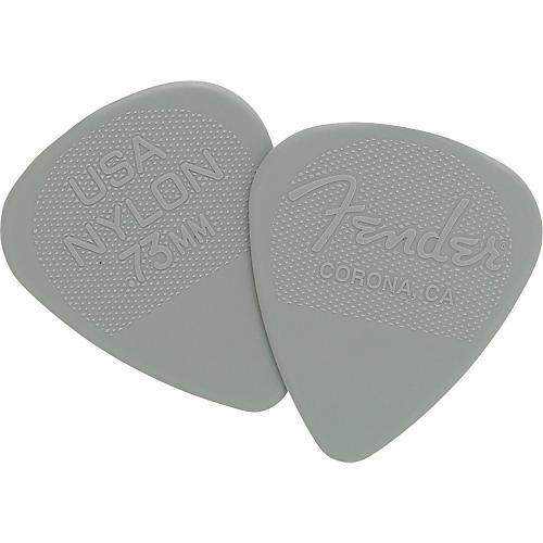 Fender Nylon Guitar Pick 12 Pack 0.73 12 Pack