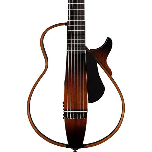 yamaha nylon string silent guitar tobacco sunburst musician 39 s friend. Black Bedroom Furniture Sets. Home Design Ideas