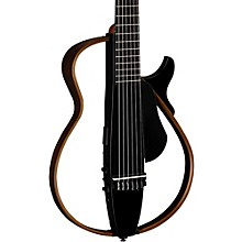 Nylon String Silent Guitar Trans Black