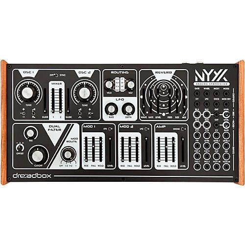 Dreadbox Nyx V2 Duophonic Analog Synthesizer Black