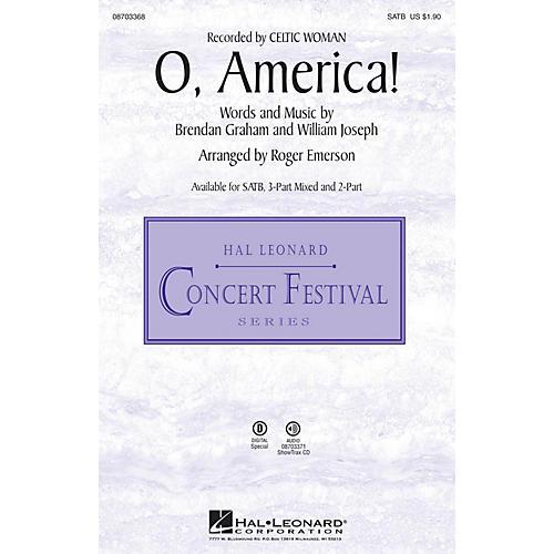 Hal Leonard O, America! 2-Part Arranged by Roger Emerson