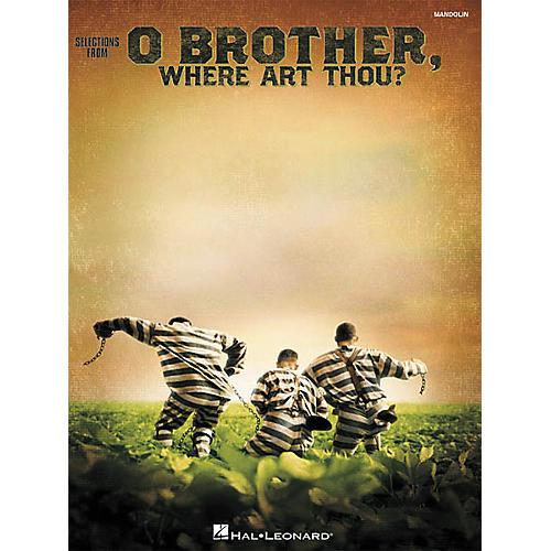 Hal Leonard O Brother Where Art Thou Mandolin Tab Songbook