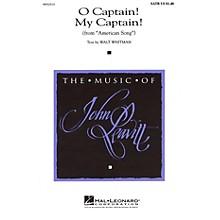 Hal Leonard O Captain! My Captain! (from American Song) TTBB Composed by John Leavitt