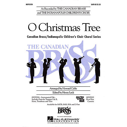 Hal Leonard O Christmas Tree 2-Part