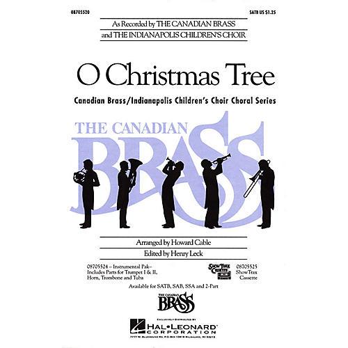 Hal Leonard O Christmas Tree SATB