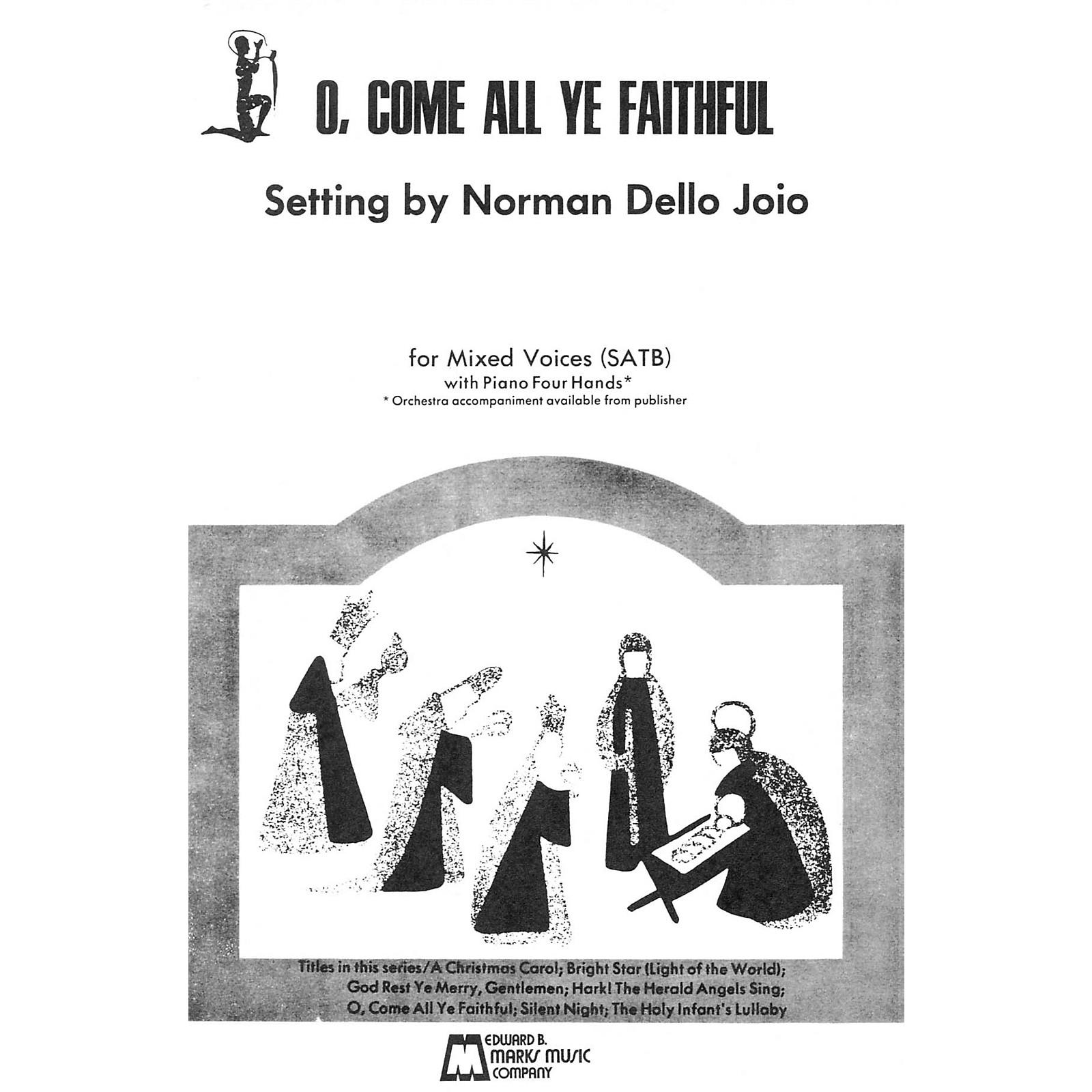 Edward B. Marks Music Company O Come All Ye Faithful (SATB, piano 4 hands)