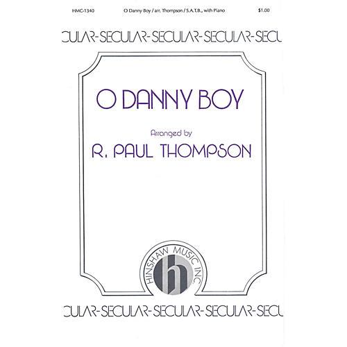 Hinshaw Music O Danny Boy SATB arranged by Thompson