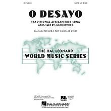 Hal Leonard O Desayo 2-Part Arranged by Mark Brymer