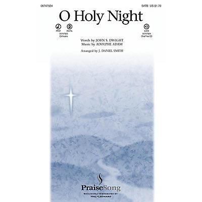 PraiseSong O Holy Night SATB arranged by J. Daniel Smith