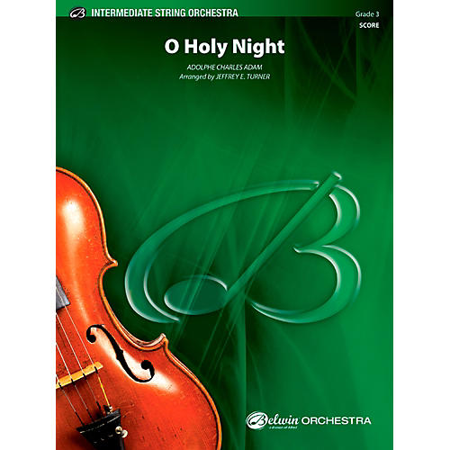 Alfred O Holy Night String Orchestra Grade 3 Set