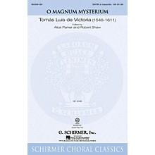 G. Schirmer O Magnum Mysterium SATB a cappella composed by De Victoria