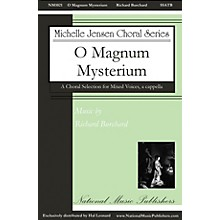 National Music Publishers O Magnum Mysterium SSATB A Cappella composed by Richard Burchard