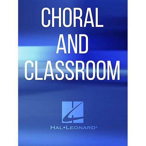Hal Leonard O Master Let Me Walk With Thee SATB