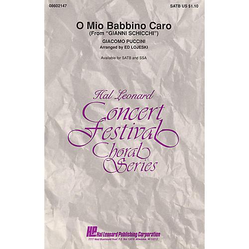 Hal Leonard O Mio Babbino Caro (from Gianni Schicchi) SSA Arranged by Ed Lojeski