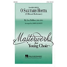 Hal Leonard O Salutaris Hostia (from Missa Brevis) (2-Part and Piano) 2-Part arranged by John Leavitt
