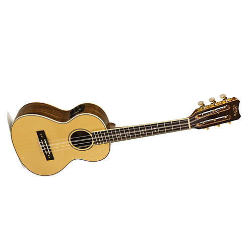 Lanikai O Series O-6EK Ovangkol 6-String Tenor Acoustic-Electric Ukulele with Fishman Kula Electronics