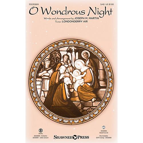 Shawnee Press O Wondrous Night SAB arranged by Joseph M. Martin