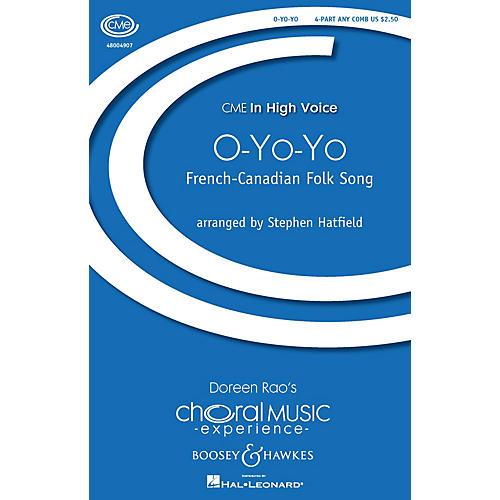 Boosey and Hawkes O-Yo-Yo (Les femmes de maris aux vignes) 4 Part Any Combination arranged by Stephen Hatfield