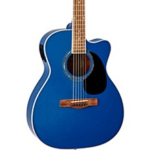 O120CEMB Orchestra Acoustic-Electric Guitar Twilight Blue Metallic