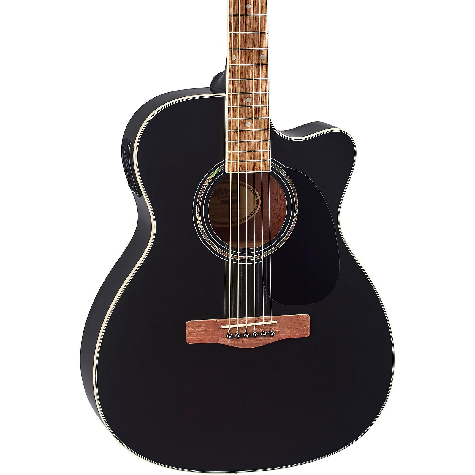 Mitchell O120CEWPM Auditorium Acoustic-Electric Guitar